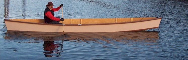 Flat Bottom Canoe